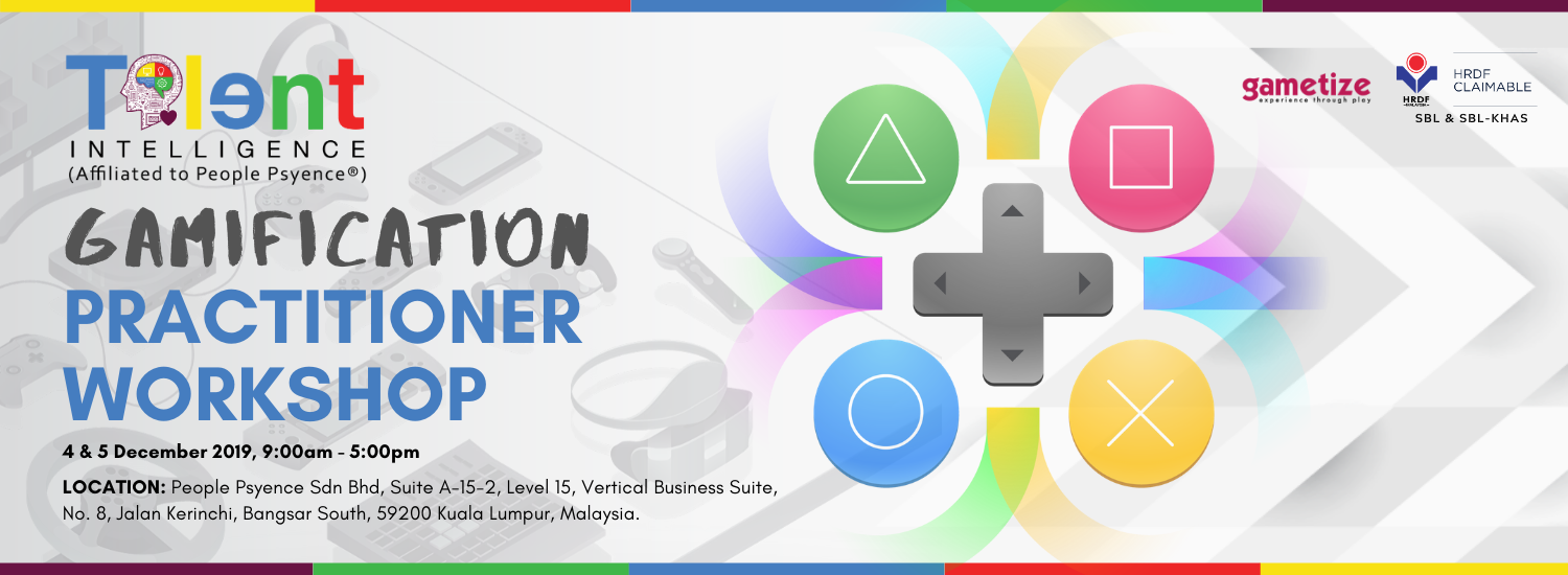 Gamification Practitioner Workshop by Jaxton Cheah